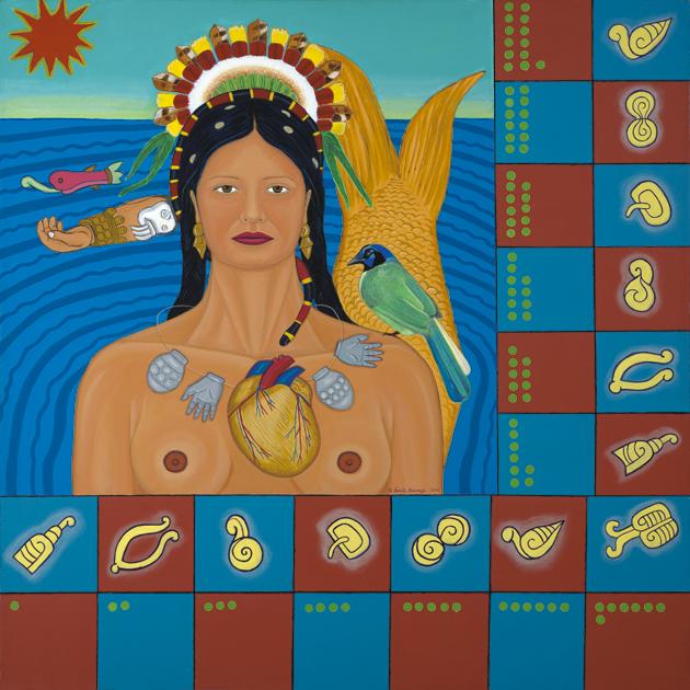 Codex del Coyolxuahqui Como Sirena