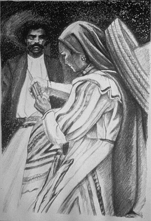 """Adelita with Zapata"" 1981"