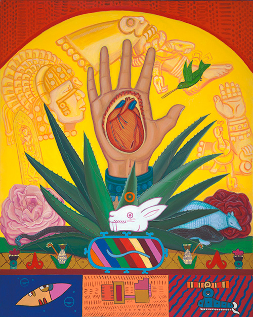 """""""Almighty Hand of Coyolxauhqui"""" 1995"""