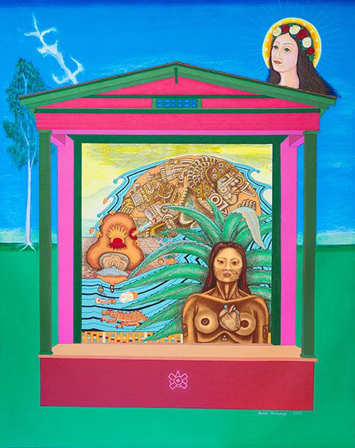 Mujeres Nobles Series: Cihuateteo con Saint Philomena