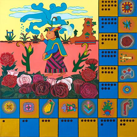 """""""Codex de Diosa de Maiz"""" 1993"""