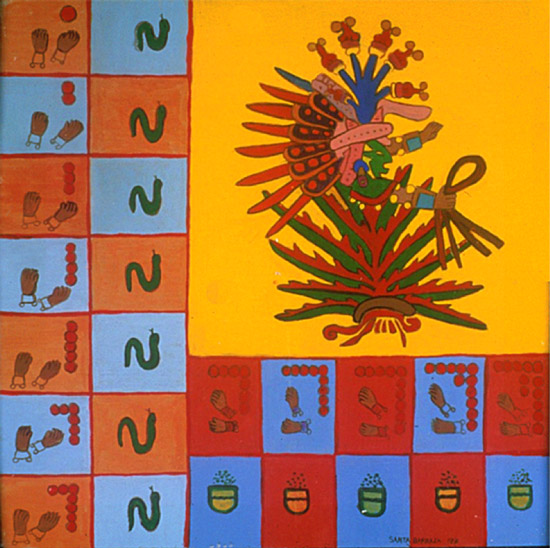 """""""Codex de Mayahuel, Retablo"""" 1991"""
