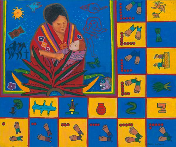"""""""Codex de Mestizaje, Retablo"""" 1991"""
