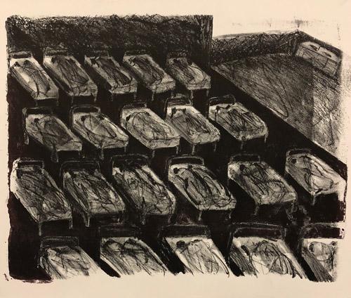 """Dream Series: Las Camas"" 1982"