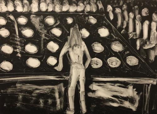 """Dream Series: Exposicion de Huevos en el D.F."" 1982"