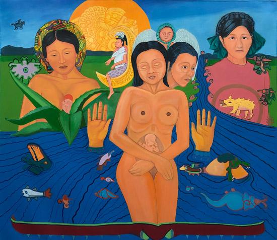 """Mujeres de Nepantla"" 1995"