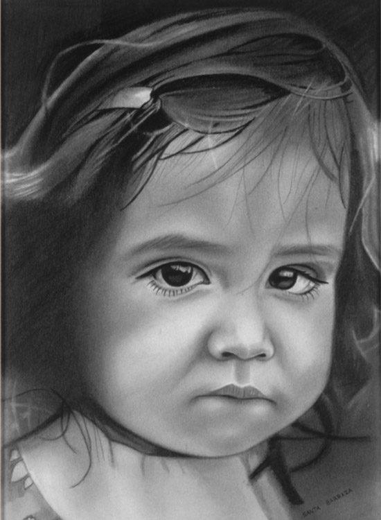 """Portrait of Andrea"" 1975/1976"