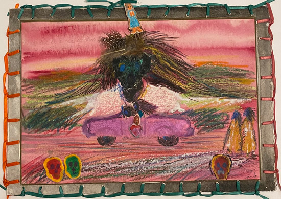"""""""Dream Series: Ride in a 50s Pink Cadillac,"""" 1982"""