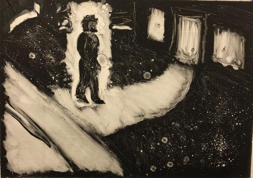"""Dream Series: Sueno de un Hombre como Catrin"" 1982"