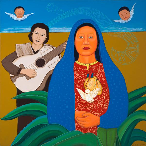 """""""Lydia Mendoza Canto a la Virgen"""" 1999"""
