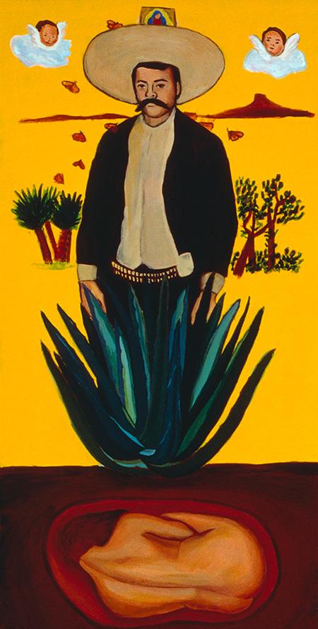 """Zapata, Retablo"" 1993"